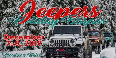 Jeepers Holiday Bazaar tickets