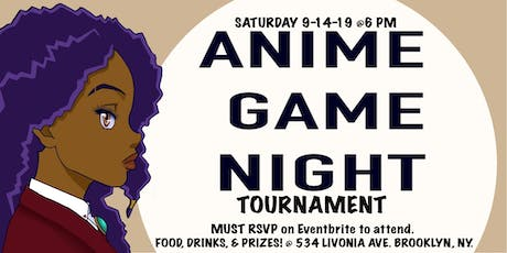 Anime Game Night Tournament tickets