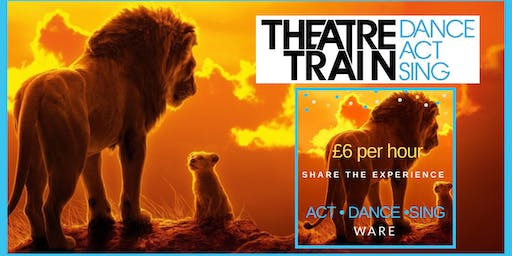 THEATRETRAIN LION KING summer school (4-18yrs; split groups)