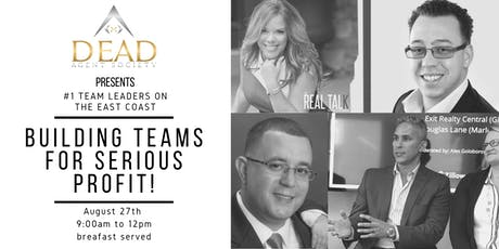 Buildings Teams for Serious Profits: Learn from Top Teams in the United States! tickets