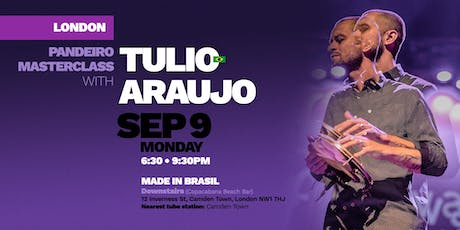 LONDON | Pandeiro Masterclass with Tulio Araujo tickets