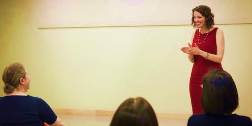 Be Bolder Bootcamp - public speaking workshop
