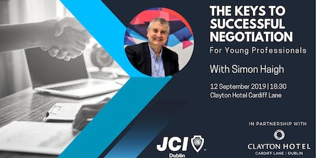 The Keys to Successful Negotiation  tickets