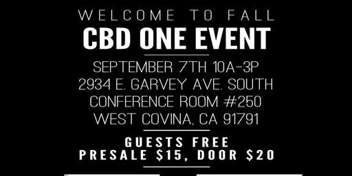 Welcome to Fall- CBD One Event