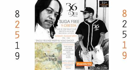 Suga Free & Y-Dresta Live @ VYBZ tickets