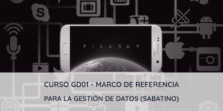 Curso GD01 - Marco de referencia para la gestión de datos entradas