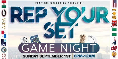 Playtime Worldwide Presents: Rep Your Set Game Night Vol. 2 tickets
