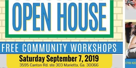 Open House - Free Adult Self Defense Workshop September 7, 2019 tickets