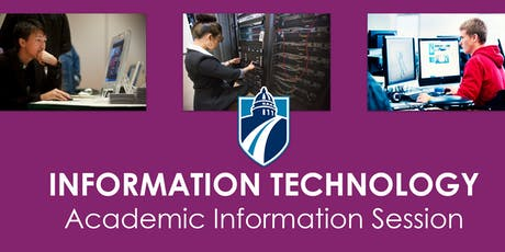 IT Academic Information Session (Fall 2019)  tickets