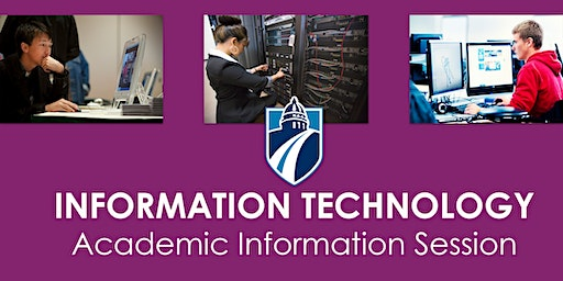 IT Academic Information Session (Fall 2019)