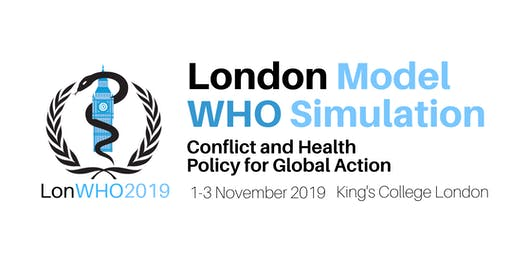 London Model WHO Simulation 2019