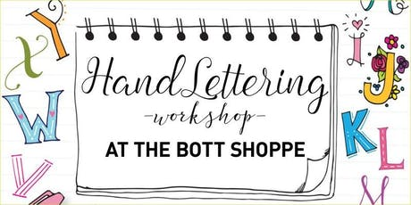 Hand Lettering Workshop tickets
