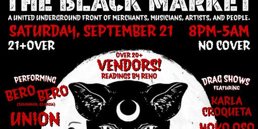 The Black Market! Saturday Night Celebration!