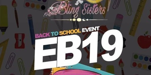 Eutaw Boutique Back To School Pop Up GiveBack w/ Bling Sisters Aug 24th