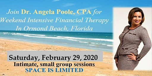 1-Day Intensive Financial Therapy with Dr. Angela Poole, CPA