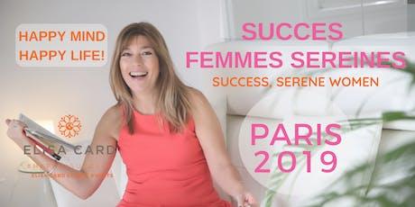 ATELIER-COACHING «SUCCES, FEMMES SEREINES» - PARIS, 28 SEPT - ELISA CARD billets