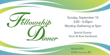 Fellowship Fund-Raiser Dinner tickets