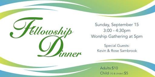 Fellowship Fund-Raiser Dinner