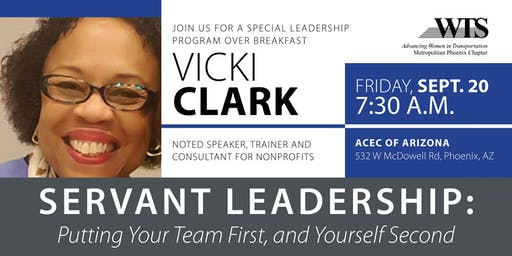 Servant Leadership with Vicki Clark