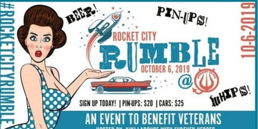 1st Annual Rocket City Rumble Pinup Competition and Hot Rod Show