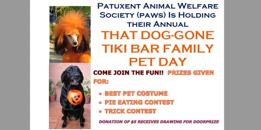 That Dog-Gone Tiki Bar Family Pet Day, Oct 27