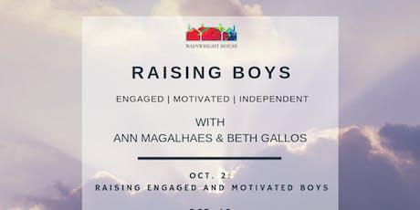 Raising Boys: Parent Support & Strategy Group tickets