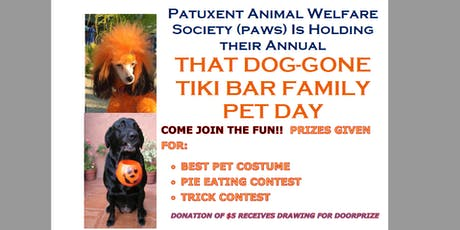 That Dog-Gone Tiki Bar Family Pet Day, Oct 20 tickets