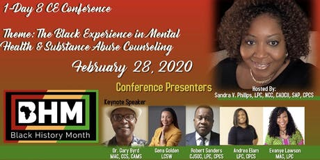 Black History Month Behavioral Health 1-Day CE Conference  tickets