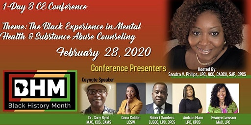 Black History Month Behavioral Health 1-Day CE Conference