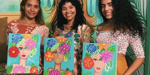 Tropical Painting  Party