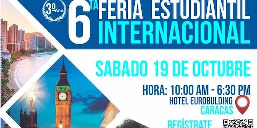 6ª Edición de la Feria Estudiantil Internacional Caracas 2019
