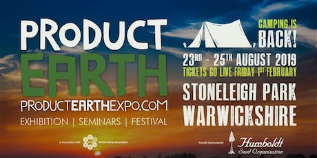 Product Earth Expo and Festival 2019 tickets