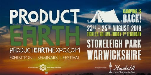Product Earth Expo and Festival 2019