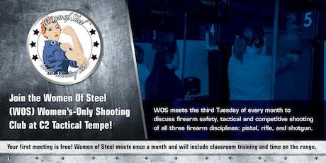 Women of Steel - Women's Only Shooting Club Meeting - September tickets