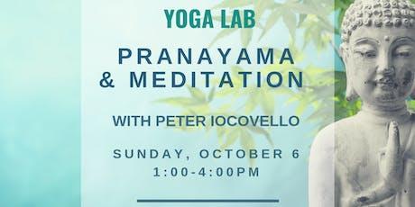 YOGA LAB: Pranayama & Meditation tickets