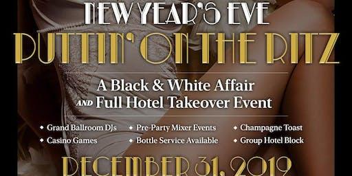 NYE 2020- Puttin' on the Ritz- Roaring 20's