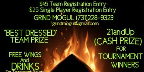 GRIND MOGUL SPADE TOURNAMENT & CHICKEN WINGS SOCIAL tickets