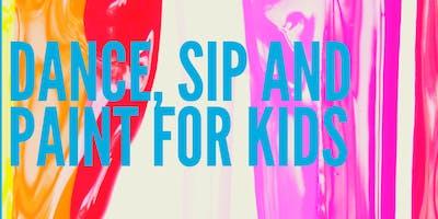 Dance Sip & Paint For Kids