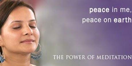 Secrets of Meditation - An Introduction to Sahaj Samadhi Meditation tickets