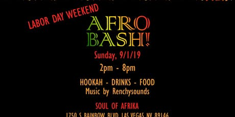 2nd Annual Afrobash Day  Party tickets