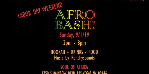 2nd Annual Afrobash Day  Party