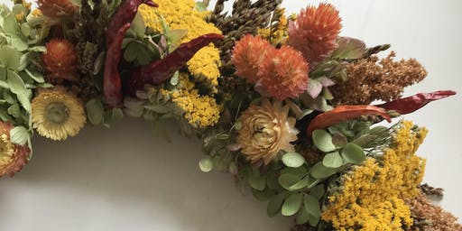 Everlasting Autumn Wreath