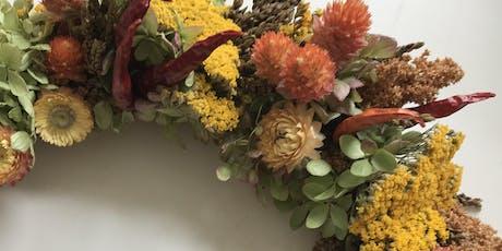 Everlasting Autumn Wreath tickets