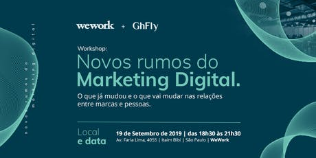 Novos Rumos do Marketing Digital ingressos