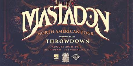 Mastadon: North American Tour tickets
