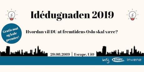 Idédugnaden 2019 - Fremtidens Oslo tickets