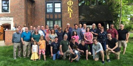 Phi Kappa Tau Omicron Chapter - Alumni Homecoming Dinner