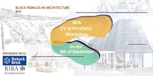 BFA x RIBA: CV & Portfolio Workshop Day