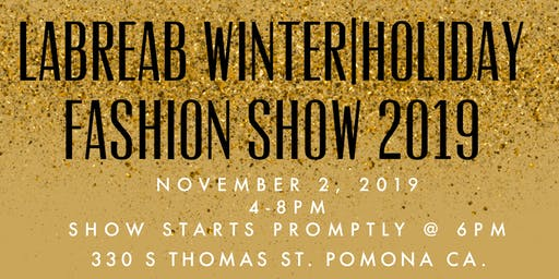 LaBreaB Stylehouse & Boutique Winter/ Holiday Fashion Show