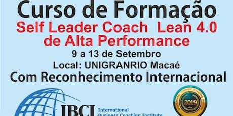 Formação Self Leader & Coach Lean 4.0 - Competências comportamentais frente ao Mundo Moderno 4.0 ingressos